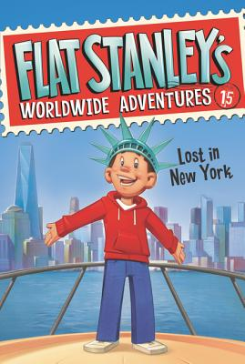 Flat Stanley's Worldwide Adventures #15: Lost in New York Cover Image