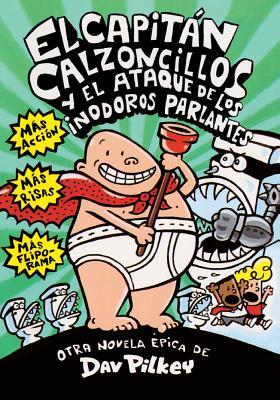 El Capitan Calzoncillos y el Ataque de los Indoros Parlantes Cover Image