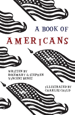A Book of Americans - Illustrated by Charles Child Cover Image