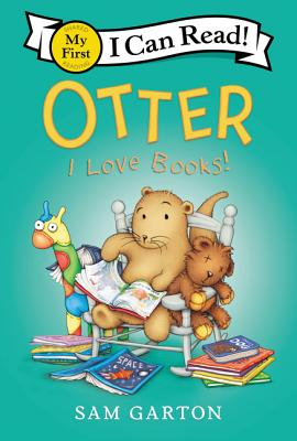 Otter: I Love Books! (My First I Can Read) Cover Image