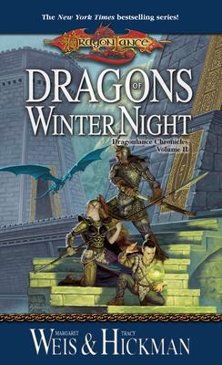 Dragons of Winter Night (Dragonlance Novel: Dragonlance Chronicles #2) Cover Image