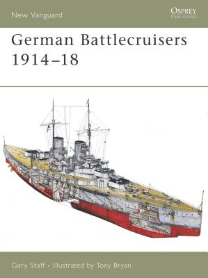 German Battlecruisers 1914-18 Cover