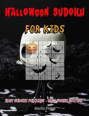 Halloween Sudoku For Kids: Easy Sudoku Puzzles - Halloween Edition Cover Image