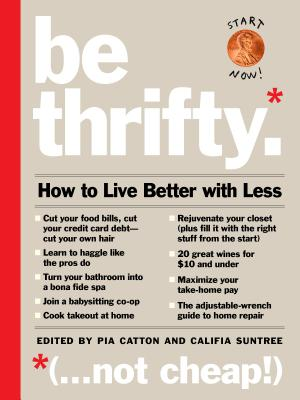 Be Thrifty Cover