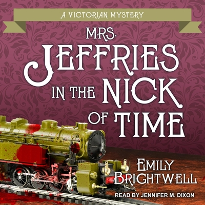 Mrs. Jeffries in the Nick of Time (Victorian Mystery #25) Cover Image