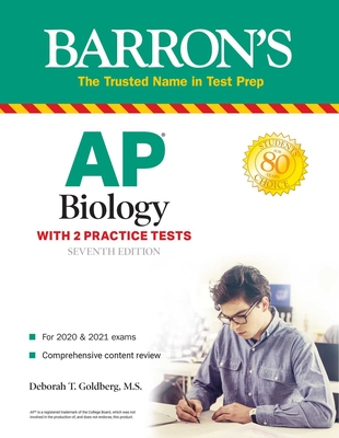 AP Biology: With 2 Practice Tests (Barron's Test Prep) Cover Image
