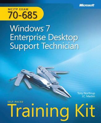 MCITP Self-Paced Training Kit (Exam 70-685): Windows 7 Enterprise Desktop Support Technician [With CDROM] Cover Image