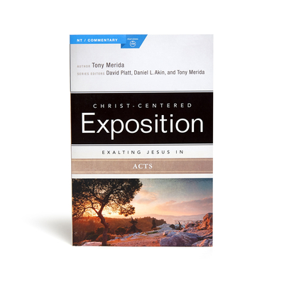 Cover for Exalting Jesus in Acts (Christ-Centered Exposition Commentary)