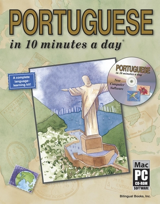 Portuguese in 10 Minutes a Day [With CDROM] Cover