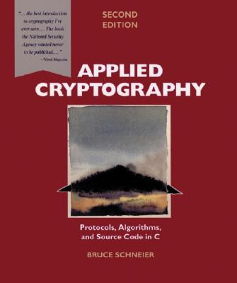 Cover for Applied Cryptography