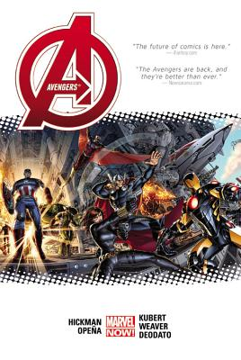 Avengers by Jonathan Hickman Volume 1 cover image