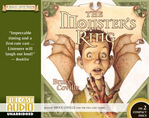The Monster's Ring (Library): A Magic Shop Book Cover Image