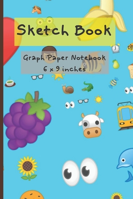 Sketch Book: Graph Paper Notebook Cover Image