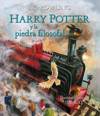 Harry Potter Y La Piedra Filosofal. Edición Ilustrada / Harry Potter and the Sorcerer's Stone: The Illustrated Edition Cover Image