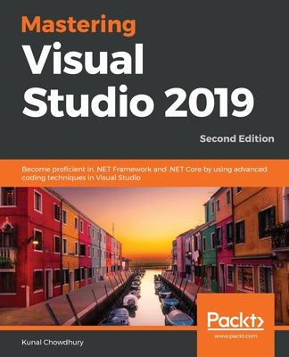 Mastering Visual Studio 2019 Cover Image