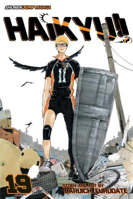 Haikyu!!, Vol. 19: Moon's Halo Cover Image