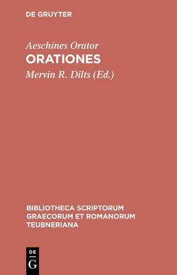 Orationes (Bibliotheca Scriptorum Graecorum Et Romanorum Teubneriana #1009) Cover Image