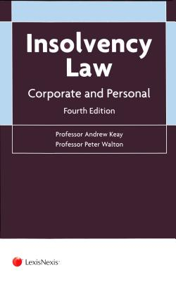 Insolvency Law: Corporate and Personal (Fourth Edition) Cover Image
