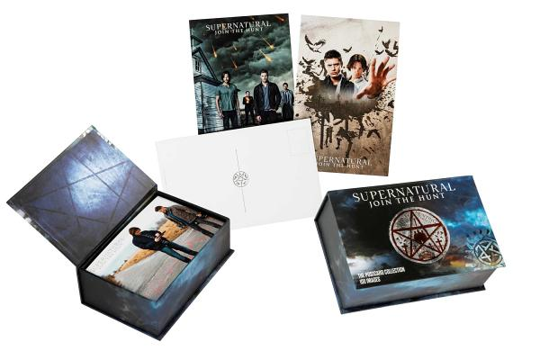 Supernatural: The Postcard Collection (Science Fiction Fantasy) Cover Image