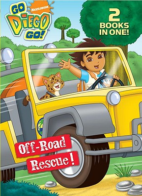 Off-Road Rescue!/Wave Rider! (Go, Diego, Go!) Cover