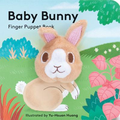 Baby Bunny: Finger Puppet Book Cover Image