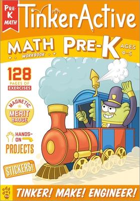 TinkerActive Workbooks: Pre-K Math Cover Image
