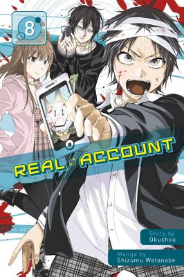 Cover for Real Account 8