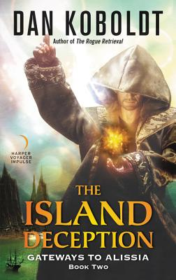 The Island Deception (Gateways to Alissia #2) Cover Image