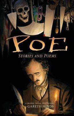 Poe: Stories and Poems: A Graphic Novel Adaptation by Gareth Hinds Cover Image