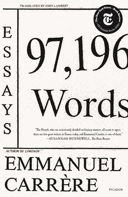97,196 Words: Essays Cover Image