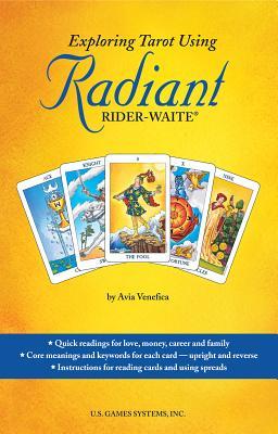 Exploring Tarot Using Radiant Rider-Waite Book Cover Image