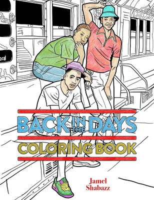 Back in the Days Coloring Book Cover Image