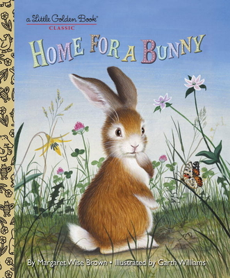 Home for a Bunny (Little Golden Book) Cover Image