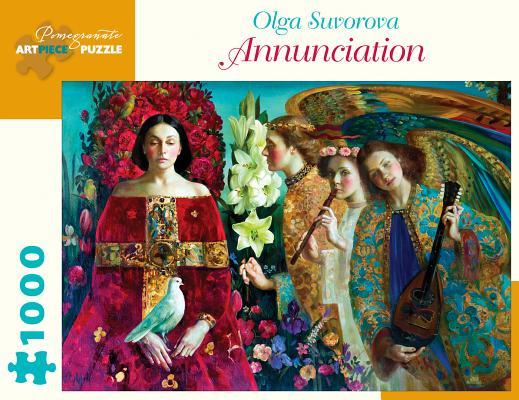 Olga Suvorova: Annunciation 1000-Piece Jigsaw Puzzle Cover Image
