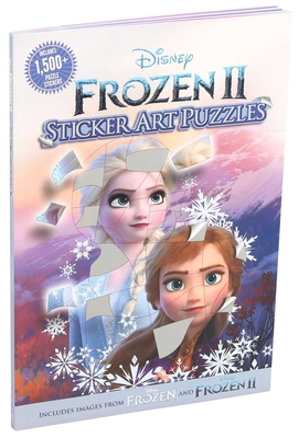 Disney Frozen 2 Sticker Art Puzzles Cover Image