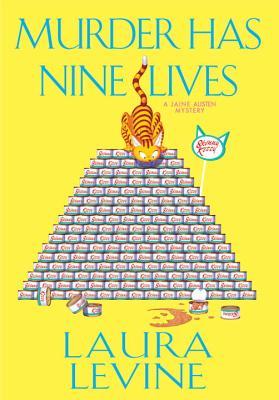 Murder Has Nine Lives (A Jaine Austen Mystery #14) Cover Image