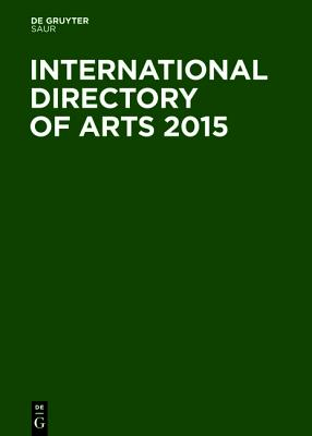 International Directory of Arts 2015 Cover Image