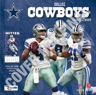 Dallas Cowboys 2019 12x12 Team Wall Calendar Cover Image
