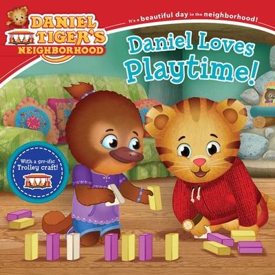 Daniel Loves Playtime! (Daniel Tiger's Neighborhood) Cover Image