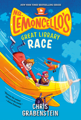 Mr. Lemoncello's Great Library Race (Mr. Lemoncello's Library #3) Cover Image
