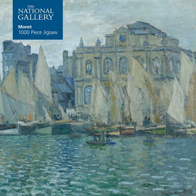 Adult Jigsaw Puzzle National Gallery: Monet the Museum at Le Havre: 1000-Piece Jigsaw Puzzles Cover Image