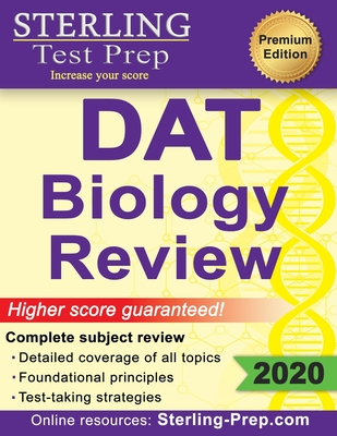 Sterling Test Prep DAT Biology Review: Complete Subject Review Cover Image