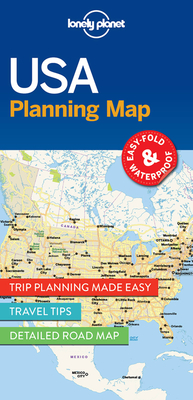 Lonely Planet USA Planning Map (Planning Maps) Cover Image