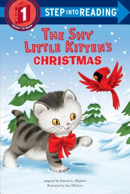The Shy Little Kitten's Christmas (Step into Reading) Cover Image