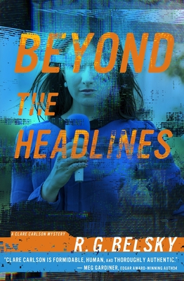 Cover for Beyond the Headlines (Clare Carlson Mystery #4)