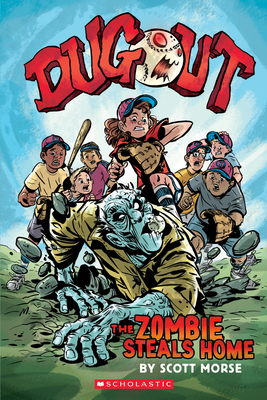 Dugout: The Zombie Steals Home: A Graphic Novel Cover Image