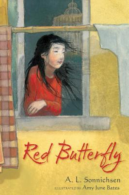 Red Butterfly Cover