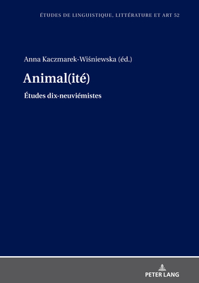 Animal(ité) Cover Image