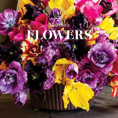 Martha's Flowers 2021 Wall Calendar Cover Image