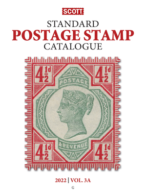 2022 Scott Stamp Postage Catalogue Volume 3: Cover Countries G-I: Scott Stamp Postage Catalogue Volume 2: G-I Cover Image